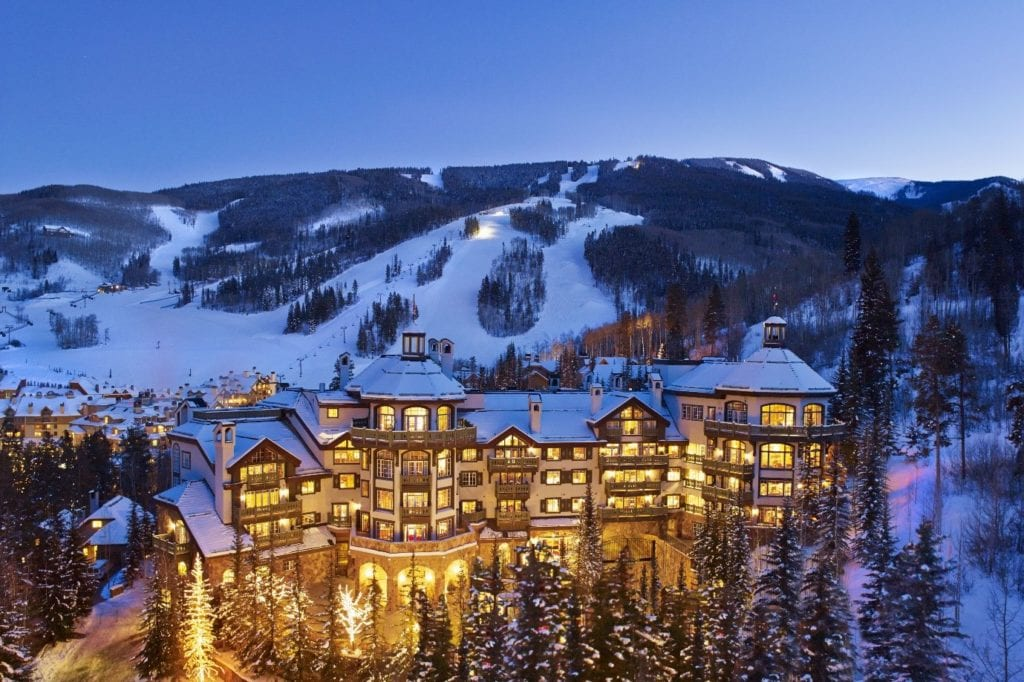 The Colorado resort of Beaver Creek is stunning in summer, and the stuff of fairy tales when the snow starts to fall