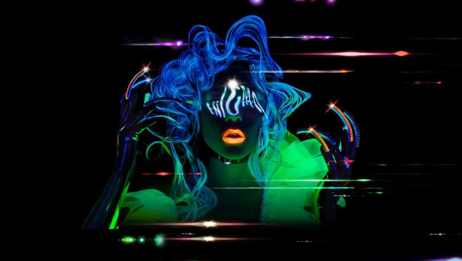 Lady Gaga show at Park MGM in Las Vegas