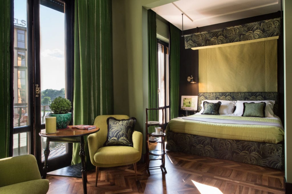 Velona's Jungle in Florence features rooms full of antique and period findings