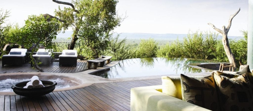 The highly sort after and exclusive Molori Lodge on the Madikwe Reserve, Africa