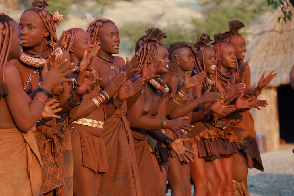 Himba people, tribe, Africa
