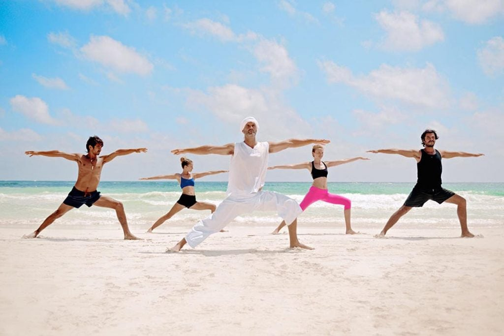 yoga, Mexico, tulum
