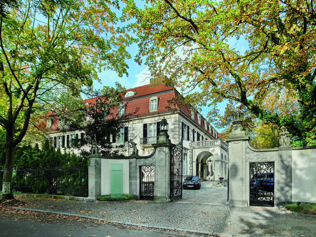Patrick Hellmann Schlosshotel from the leafy street