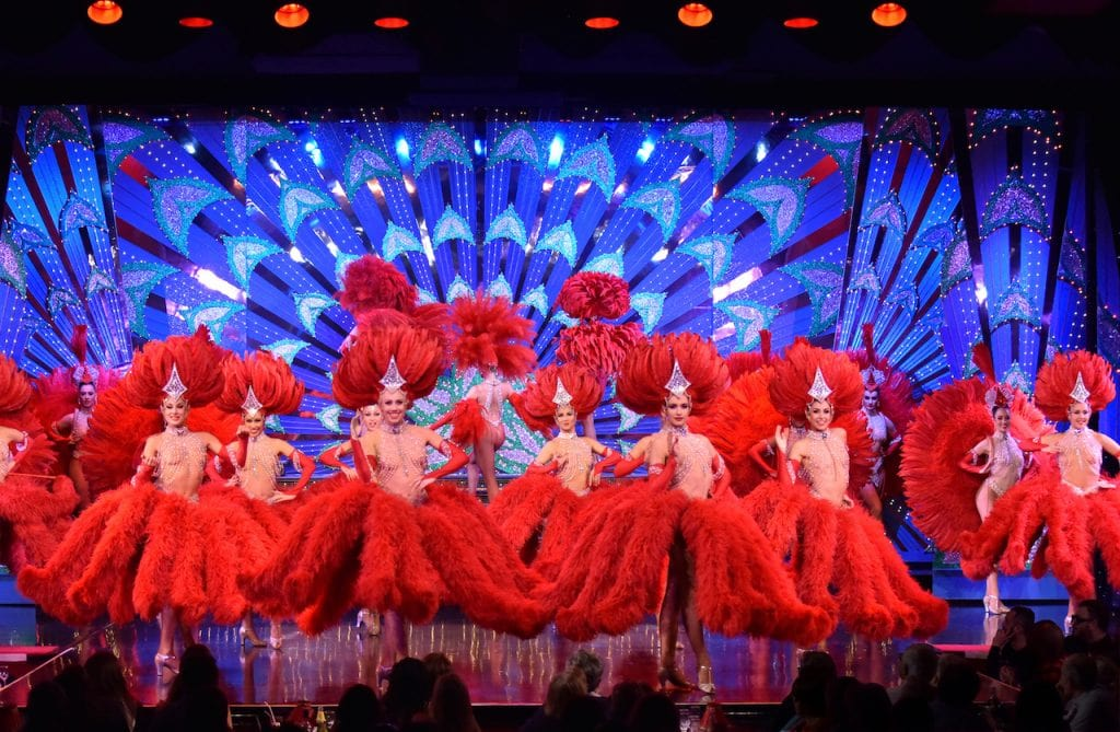 dancers, costumes, the Moulin Rouge
