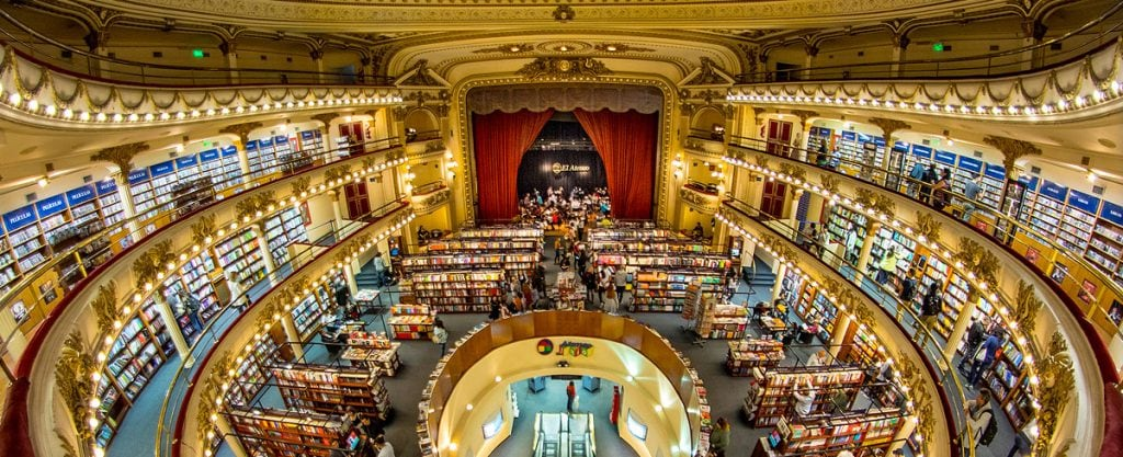 El Ateneo Grand Splendid, beautiful bookstores